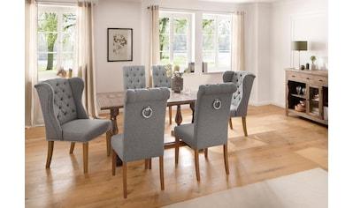 Home affaire Kulissen-Esstisch »Patchwork«, aus massivem Akazienholz, in 2 verschiedenen Größen erhältlich kaufen