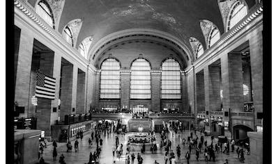 Papermoon Fototapete »Hauptbahnhof New York«, Vliestapete, hochwertiger Digitaldruck kaufen