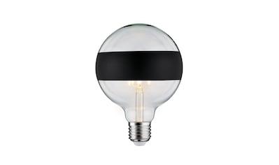 Paulmann LED-Leuchtmittel »Globe 6,5 Watt E27 Ringspiegel Schwarz matt Warmweiß«, 1... kaufen