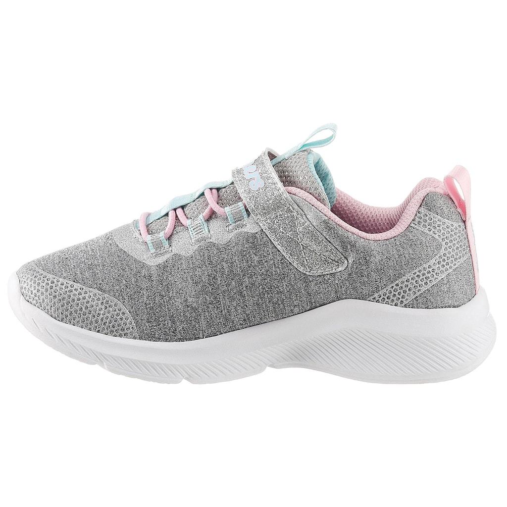 Skechers Kids Sneaker »Dreamy Lites«, mit coolen Glitzer-Applikationen