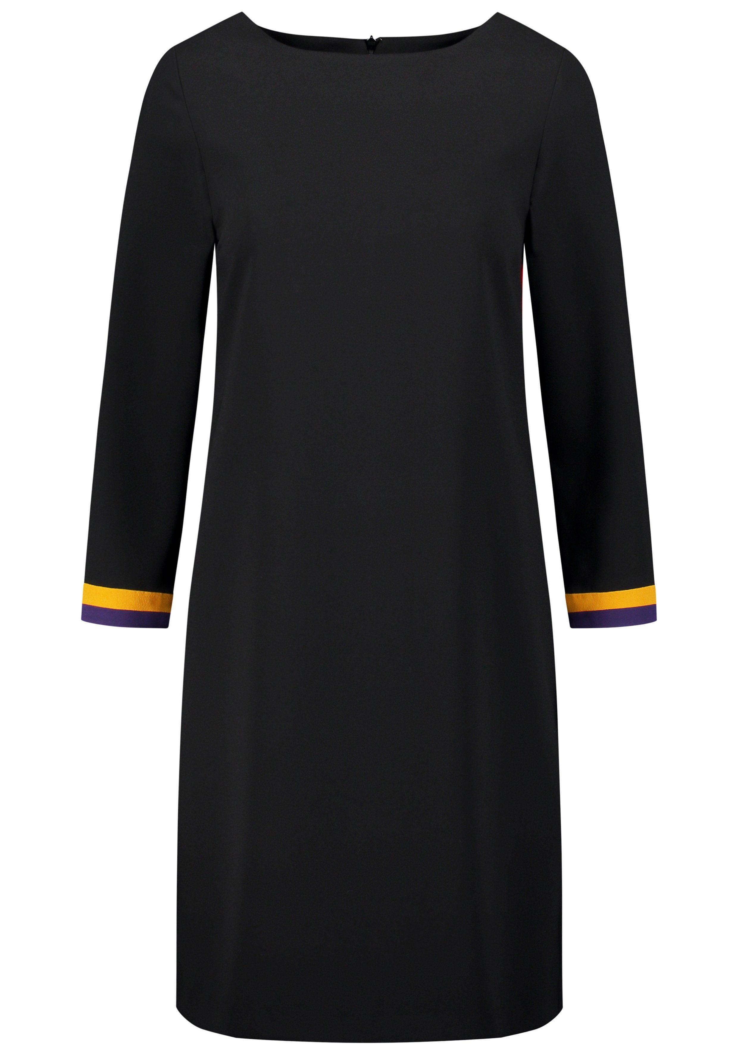 Nicowa Kleid AFIORE mit kontrastierenden Ärmelenden