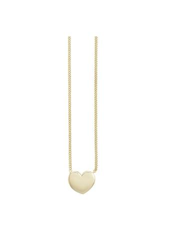 CAÏ Collier »925/- Sterling Silber vergoldet Herz«, Collier kaufen