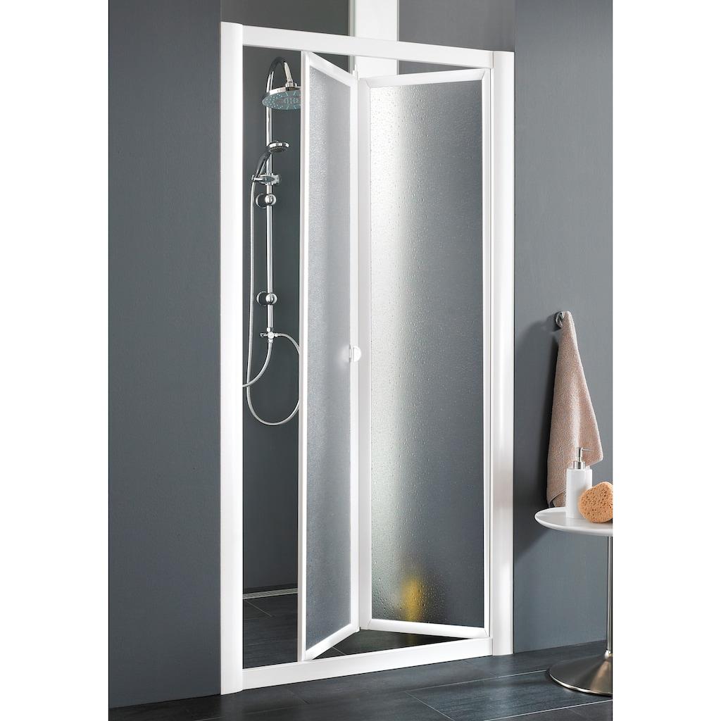 Nischentür »Domino«, Duschtür mit Verstellbereich, BxH: 83-90 x 185 cm