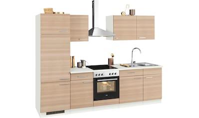 wiho Küchen Küchenzeile »Zell«, mit E-Geräten, Breite 280 cm kaufen