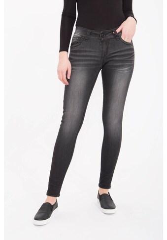 Blue Monkey Skinny-fit-Jeans »Luna 3859«, mit geschmückten Gesäßtaschen kaufen