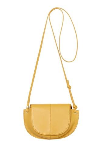Marc O'Polo Umhängetasche »Crossbody Bag«, aus echtem Leder mit schöner Ziernäht kaufen