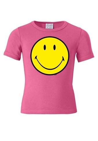 LOGOSHIRT T - Shirt mit Smiley Face - Print kaufen