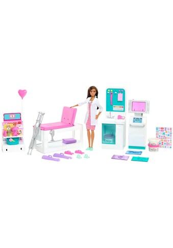 Barbie Spielwelt »Krankenstation«, mit Puppe (Brünett) und Zubehör kaufen