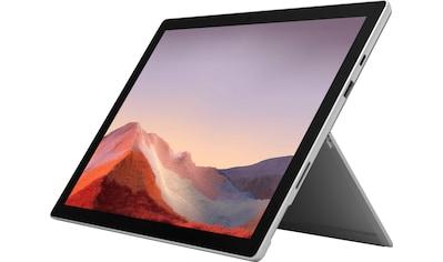 Microsoft Surface Pro 7  -  16GB / 1TB i7 Platin Convertible Notebook (31 cm / 12,3 Zoll, Intel,Core i7, 1000 GB SSD) kaufen