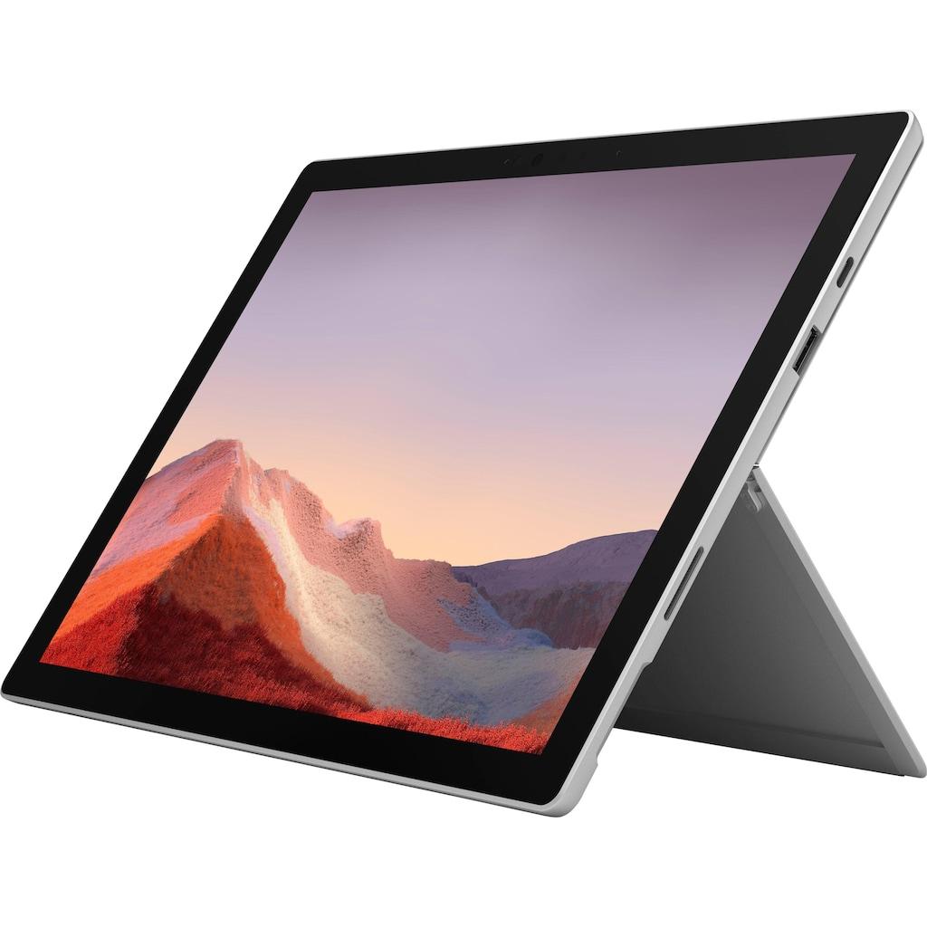 Microsoft Convertible Notebook »Surface Pro 7 - 16GB / 1TB i7 Platin«, ( 1000 GB SSD)