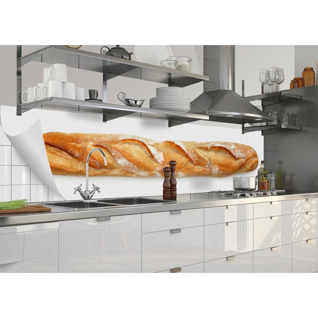 MySpotti Küchenrückwand »fixy Jannik«, selbstklebende und flexible Küchenrückwand-Folie