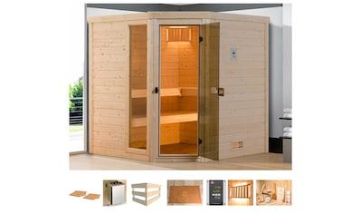 weka Sauna »Arendal 3«, 7,5 kW Bio-Kombiofen mit ext. Steuerung kaufen