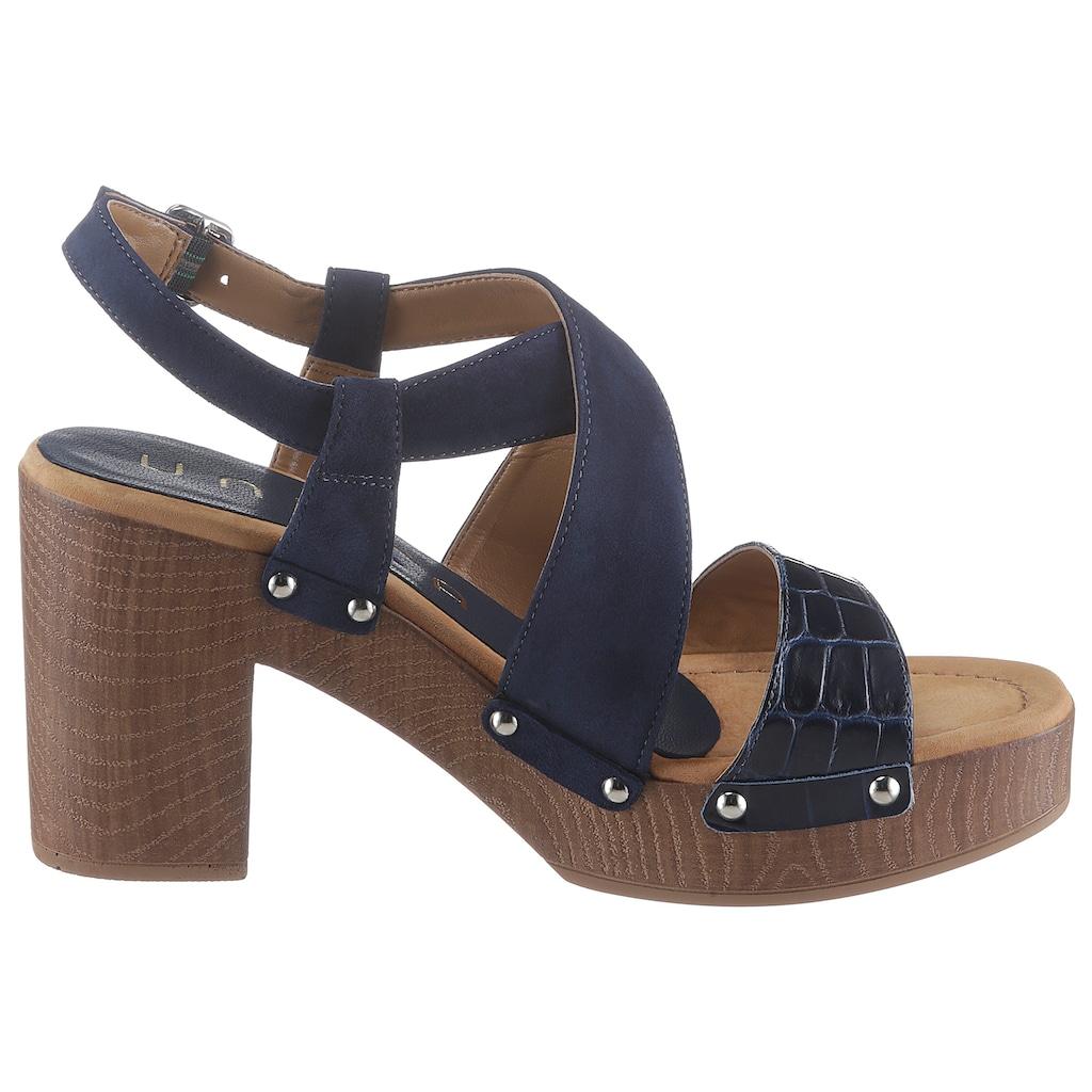 Unisa Sandalette »Terrat«, im trendigen Seventies-Look