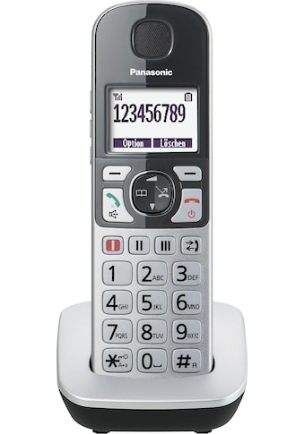 Panasonic Seniorentelefon »KX-TGQ500«, (Mobilteile: 1 ), mit IP-Technologie kaufen