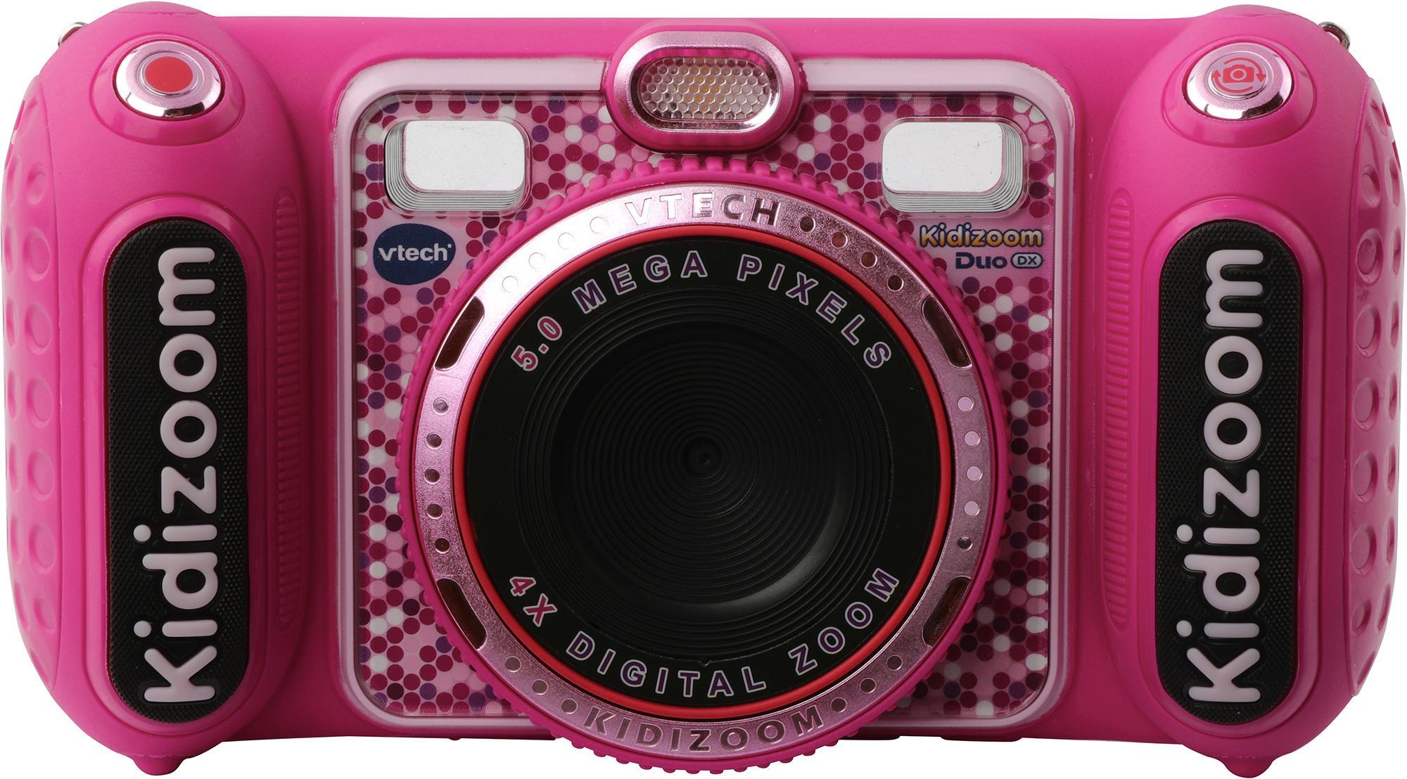 Vtech Kidizoom Duo DX pink Kinderkamera (5 MP) Kindermode/Spielzeug/Lernspielzeug/Kinder-Computer