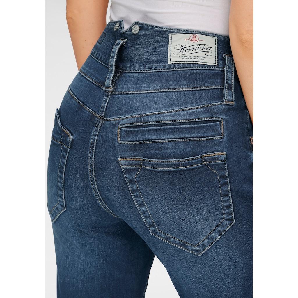 Herrlicher High-waist-Jeans »PITCH HI SLIM REUSED DENIM«