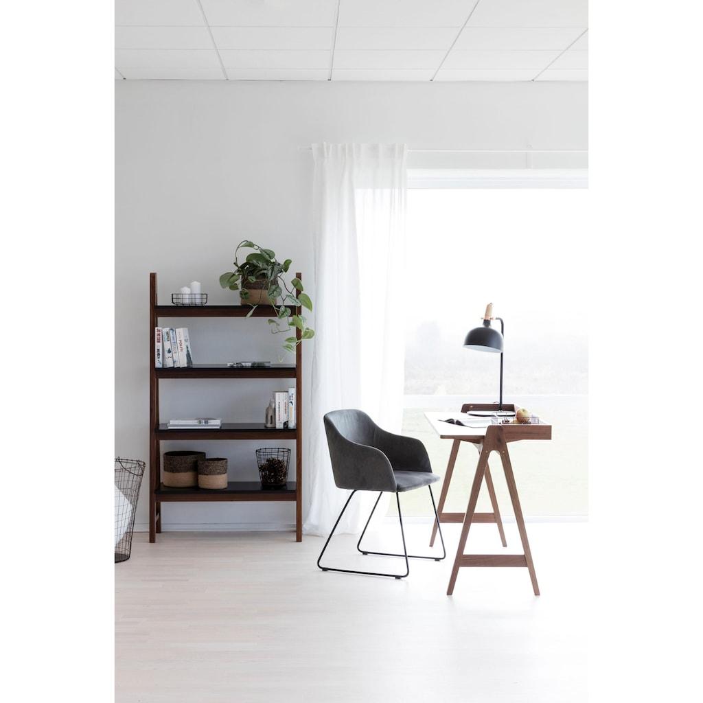 andas Stuhl »Niela«, in zwei schönen Bezugsqualitäten, mit Metallgestell, Sitzhöhe 48 cm