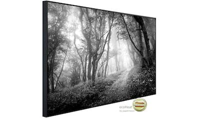 Papermoon Infrarotheizung »Wald Schwarz & Weiß«, sehr angenehme Strahlungswärme kaufen