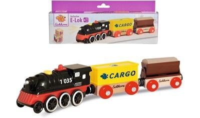 Eichhorn Spielzeug-Zug »E-Lok mit Wagon«, aus Holz, FSC®-Holz aus gewissenhaft... kaufen