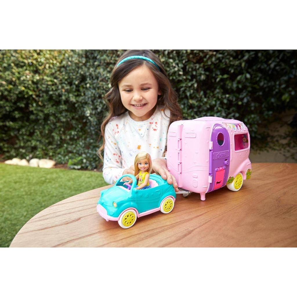 Mattel® Puppen Fahrzeug »Barbie Chelsea Camper Spielset mit Puppe«
