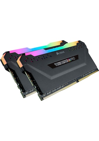 Corsair »VENGEANCE® RGB PRO 16 GB (2 x 8 GB) DDR4 DRAM 2.666 MHz C16« PC - Arbeitsspeicher kaufen