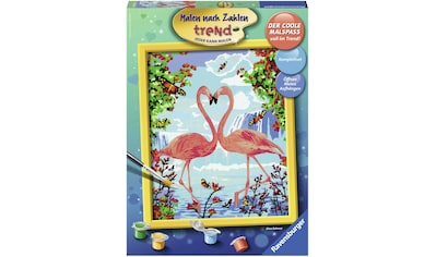 Ravensburger Malen nach Zahlen »Flamingo Love«, Made in Europe kaufen