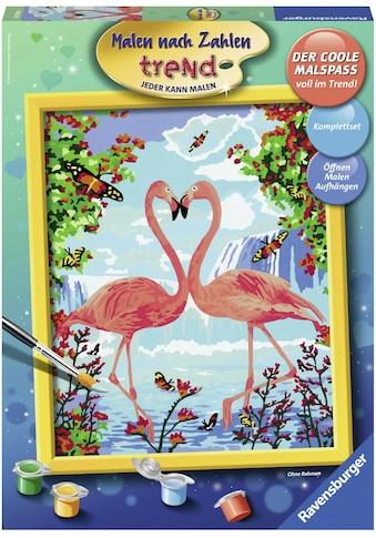 Ravensburger Malen nach Zahlen »Flamingo Love«, Made in Europe, FSC® - schützt Wald -... kaufen