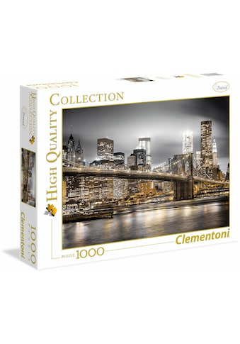 Clementoni® Puzzle »High Quality Collection - New York Skyline«, Made in Europe kaufen