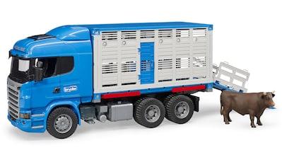 """Bruder® Spielzeug - Transporter """"Scania R - Serie Tiertransporter mit 1 Rind"""" kaufen"""