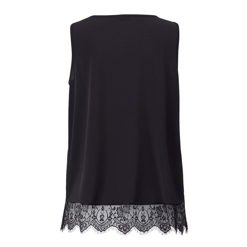 Angel of Style by HAPPYsize Longtop mit Spitze