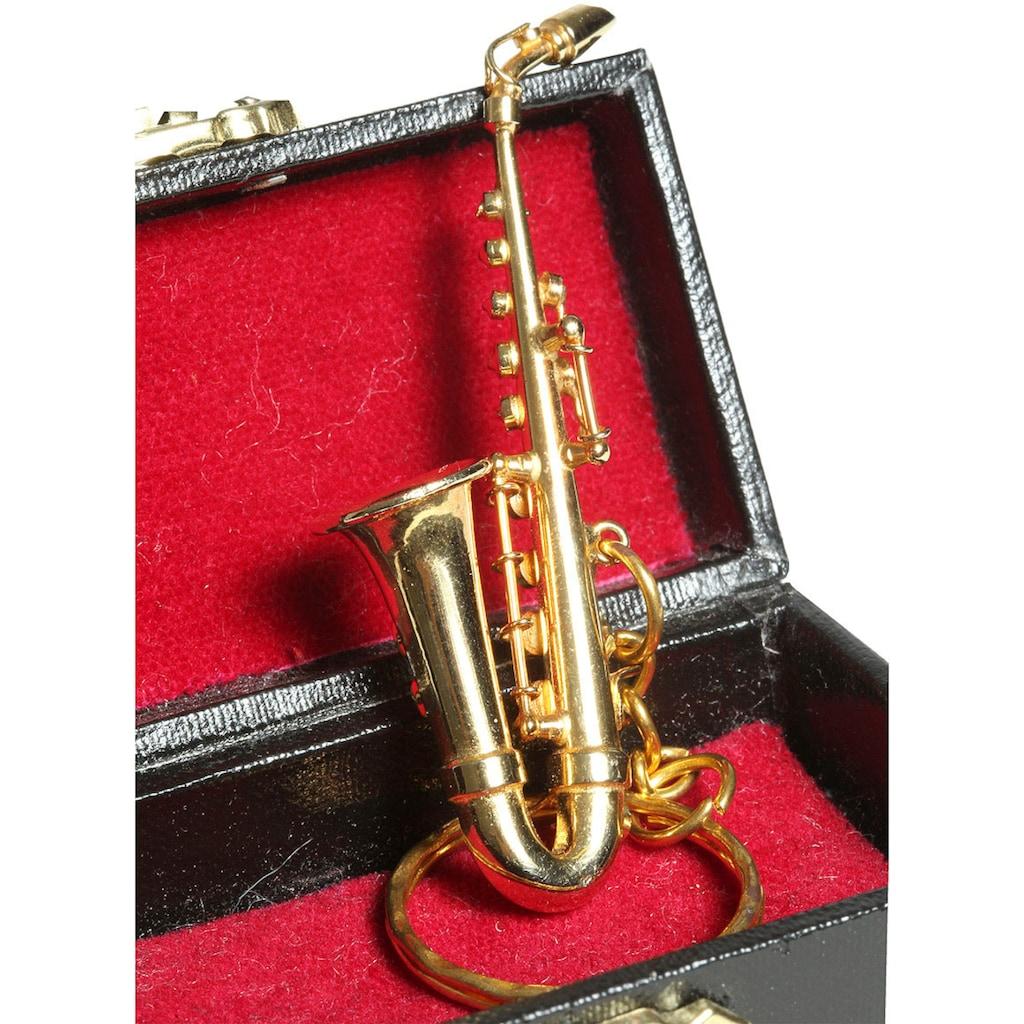 Ambiente Haus Dekofigur »Schlüsselanhänger Saxophon 7cm«