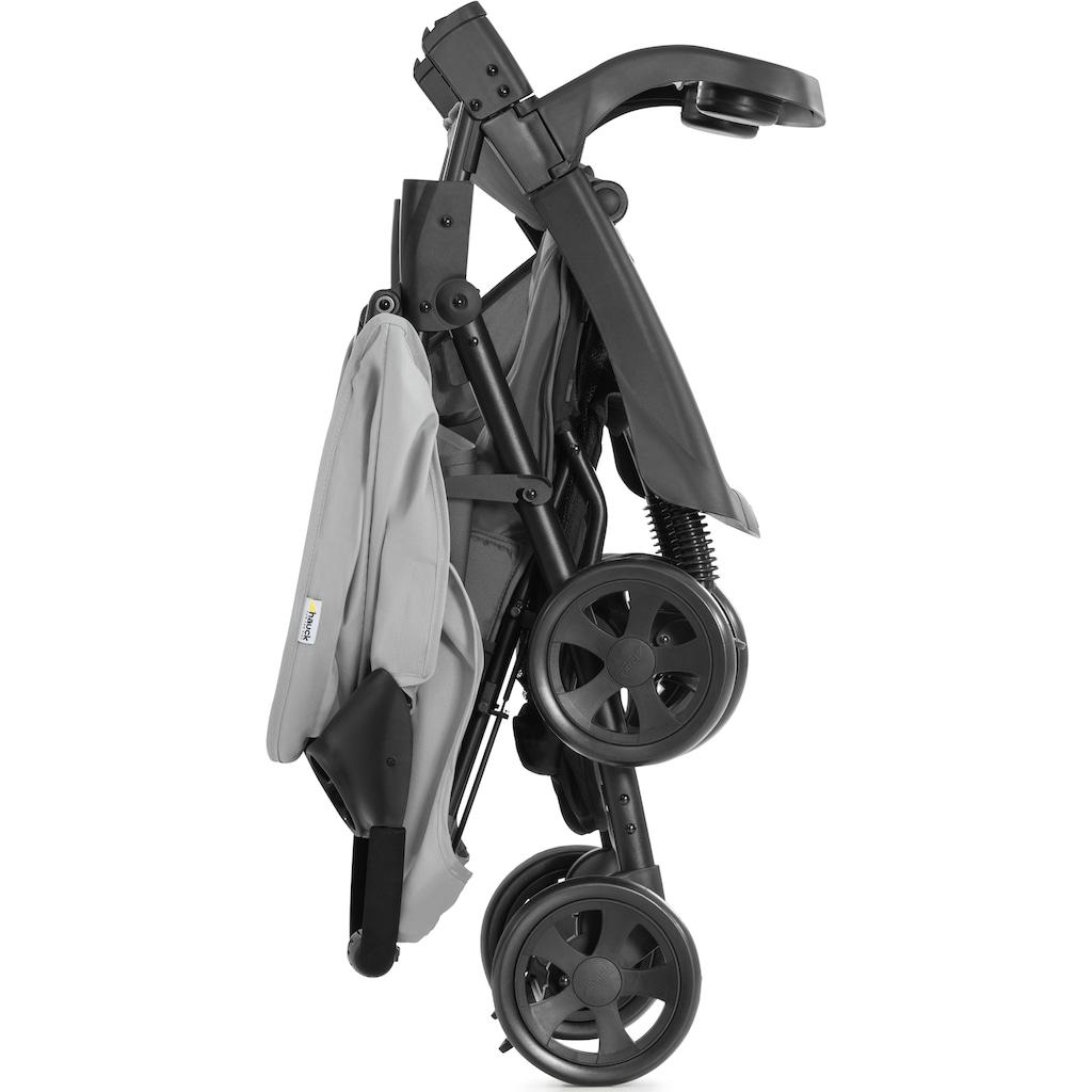 Hauck Kinder-Buggy »Shopper Neo II, grey«, 22 kg, mit schwenk- und feststellbaren Vorderrädern; Kinderwagen, Buggy, Sportwagen, Sportbuggy, Kinderbuggy, Sport-Kinderwagen