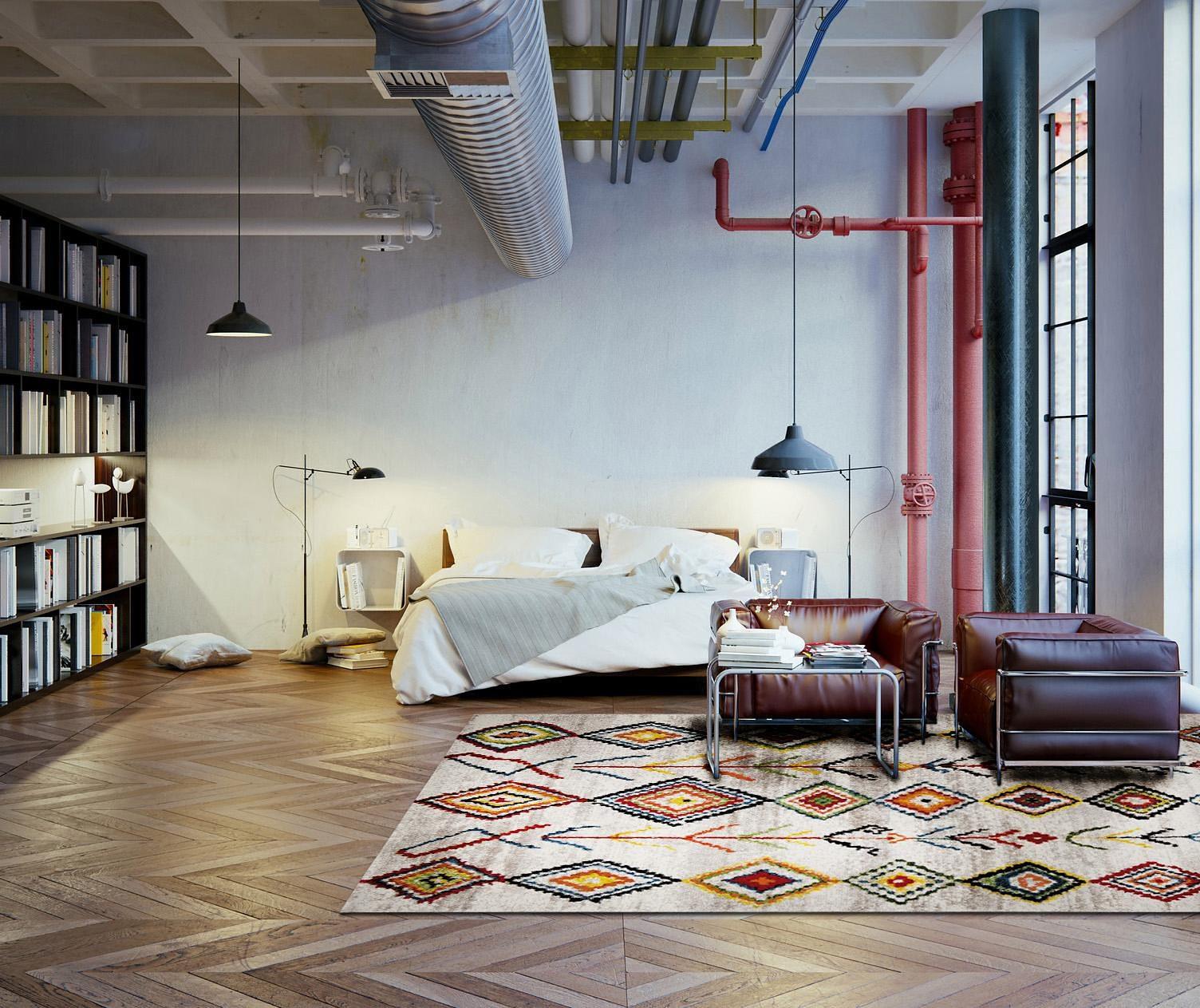 Teppich Medina Wecon Home rechteckig Höhe 13 mm maschinell gewebt