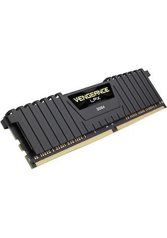 Corsair »VENGEANCE® LPX Speicherkit 64 GB (2 x 32 GB) DDR4 DRAM 3200MHz C16« PC - Arbeitsspeicher kaufen