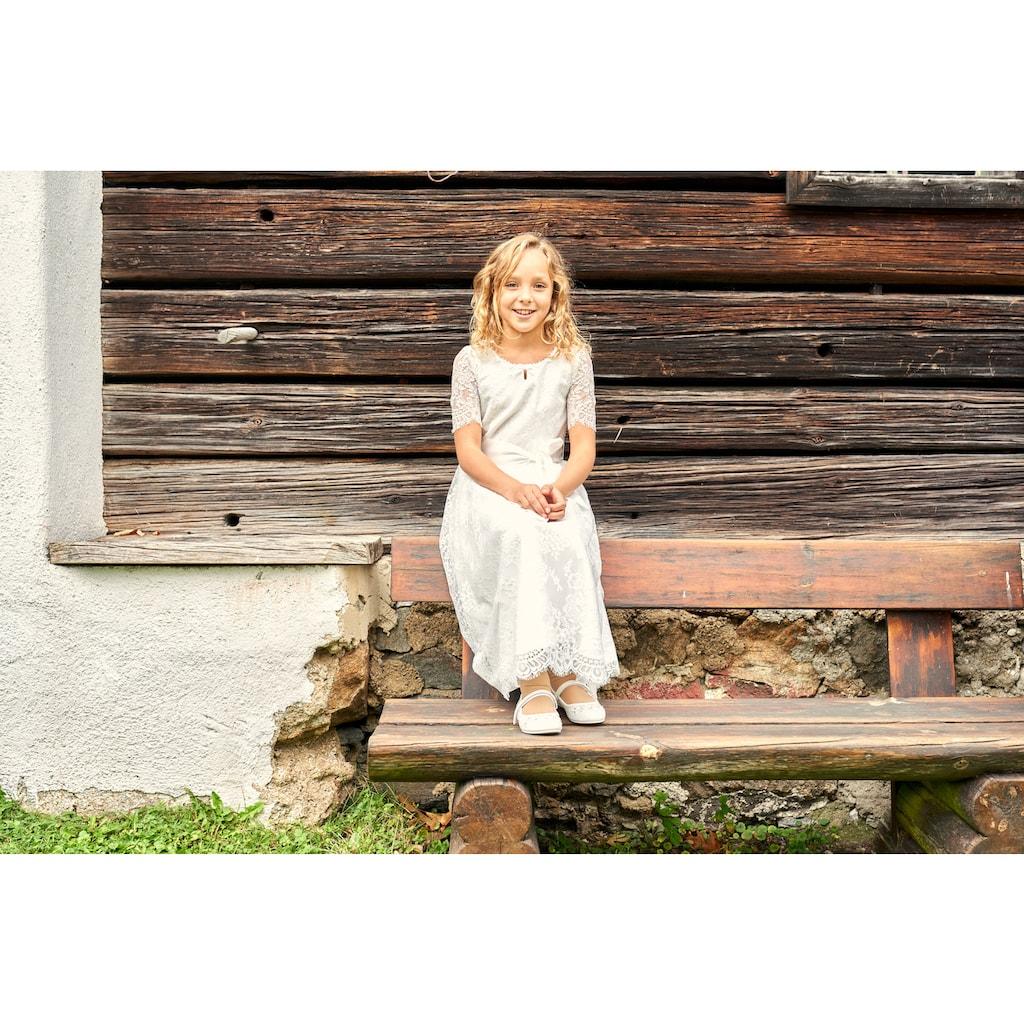 MarJo Trachtenkleid, Kinder, mit weicher Spitze