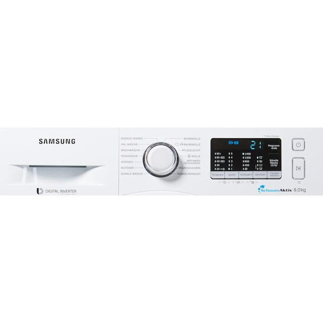 Samsung Waschmaschine AddWash WW5500 WW80K5400WW/ EG