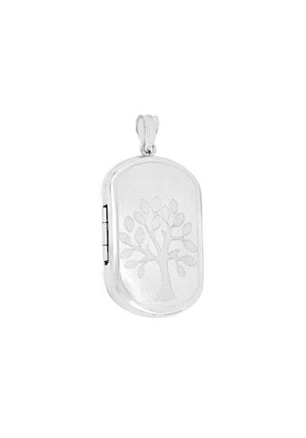 La Piora Kettenanhänger »Medaillon«, Baum, 925/- Sterlingsilber rhodiniert kaufen