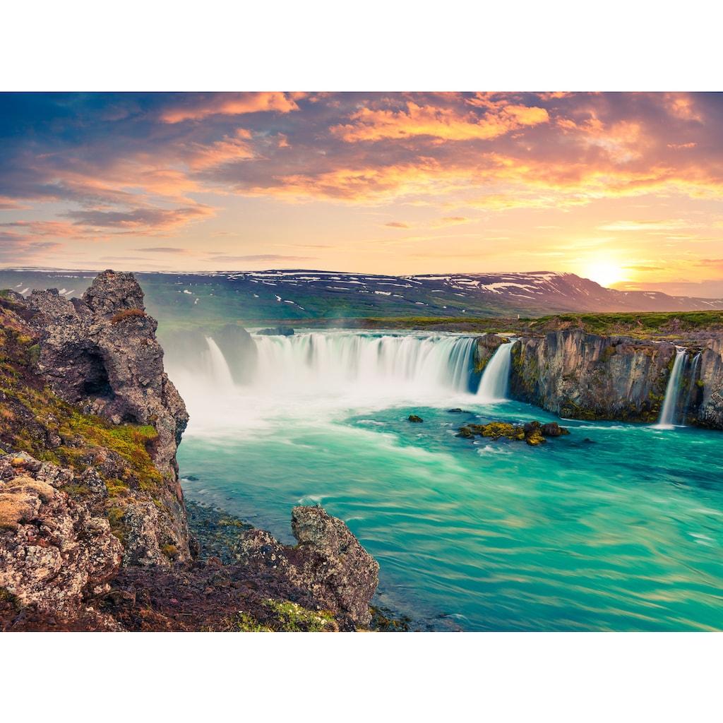Papermoon Fototapete »Godafoss Waterfall Iceland«