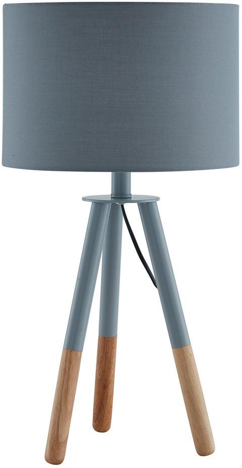 SalesFever Tischleuchte Liga, E27, 1 St., Dreibeiniges Stativ, skandinavisches Design