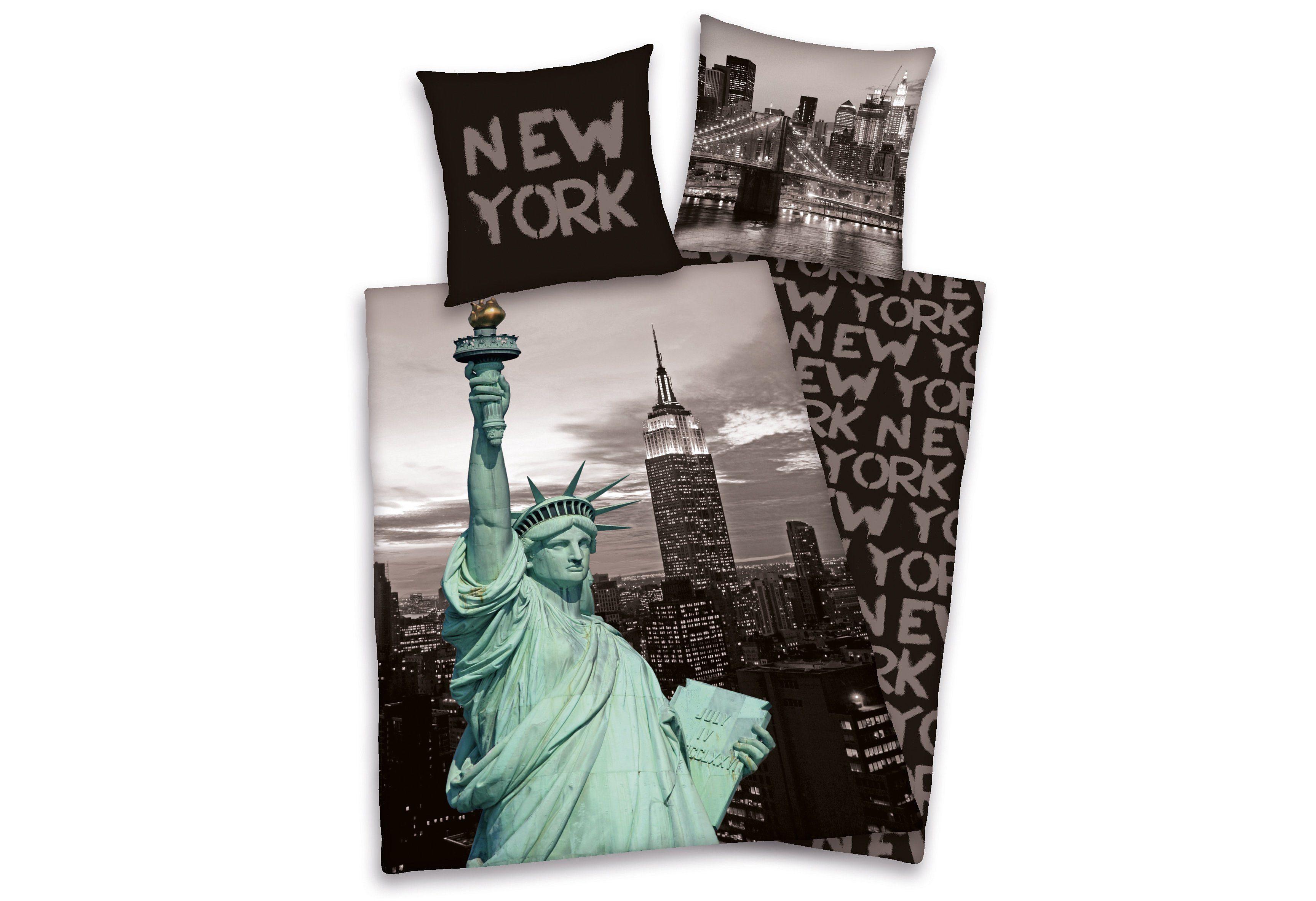 Wendebettwäsche New York