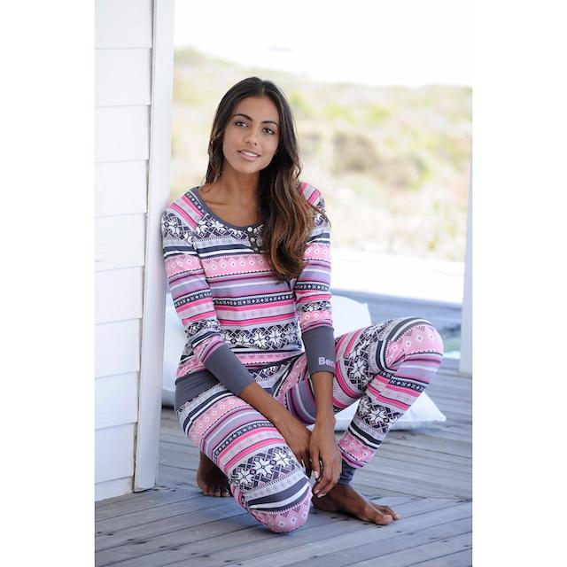 Bench. Pyjama