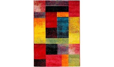 OCI DIE TEPPICHMARKE Teppich »Happiness Shimmer«, rechteckig, 20 mm Höhe, Wohnzimmer kaufen