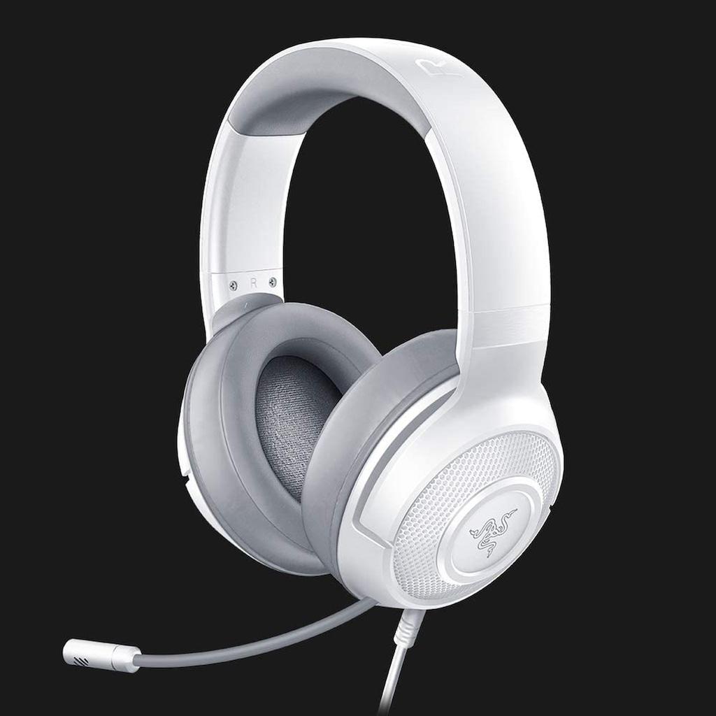 RAZER Headset »Kraken X - Mercury«, kabelgebundenes Multi-Plattform-Gaming-Headset