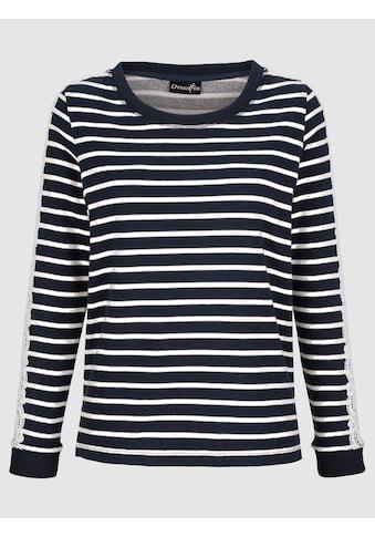 Dress In Sweatshirt mit Spitzendetail kaufen
