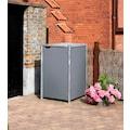 HIDE Mülltonnenbox für 1 x 120 l, grau