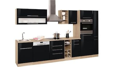 HELD MÖBEL Küchenzeile »Eton«, mit E - Geräten, Breite 330 cm kaufen