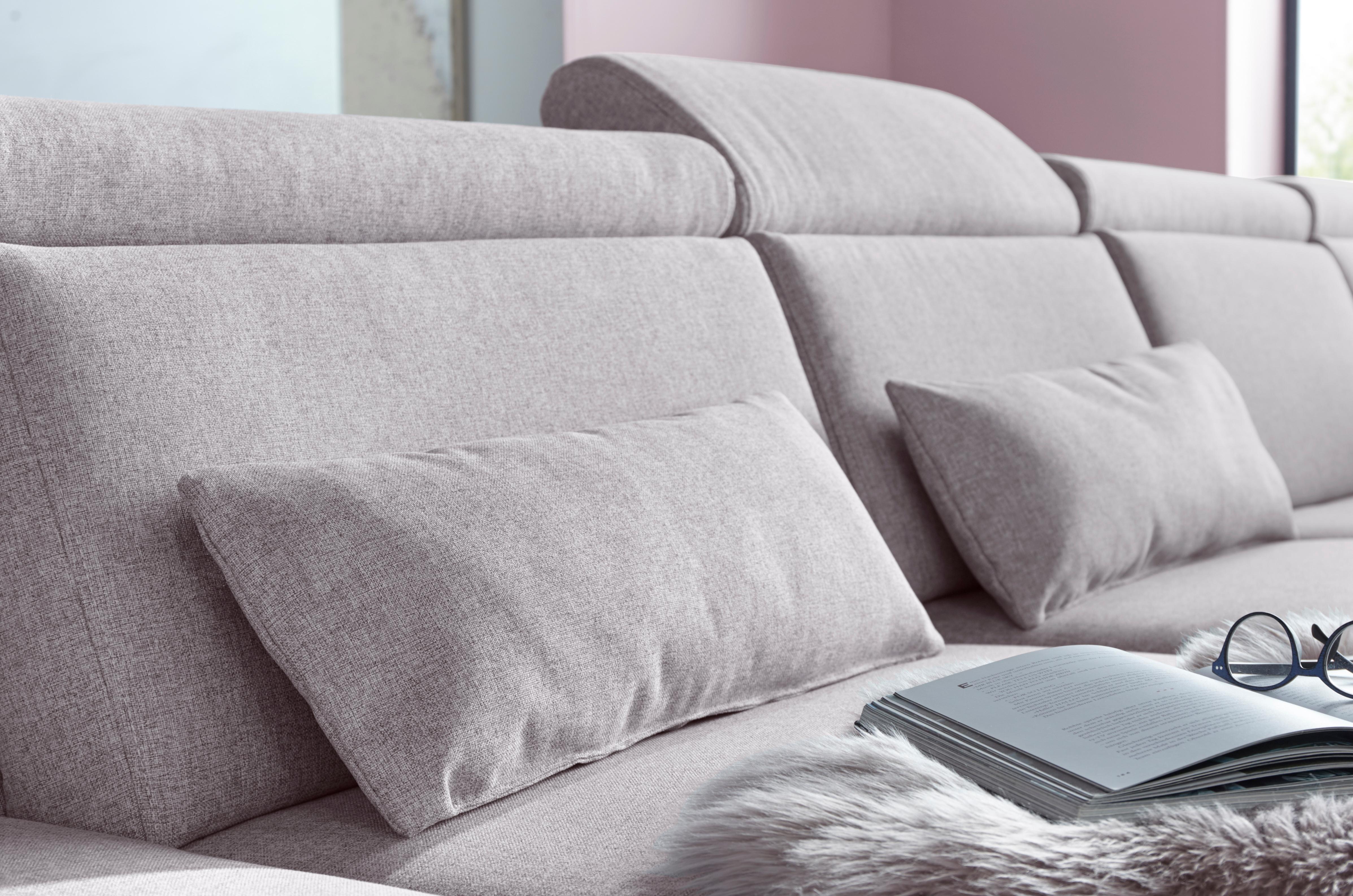 sit&more Polsterauflage (Set) rosa Dekokissen uni Kissen Polsterauflagen