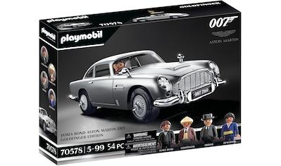 Playmobil® Konstruktions-Spielset »James Bond Aston Martin DB5 - Goldfinger Edition... kaufen