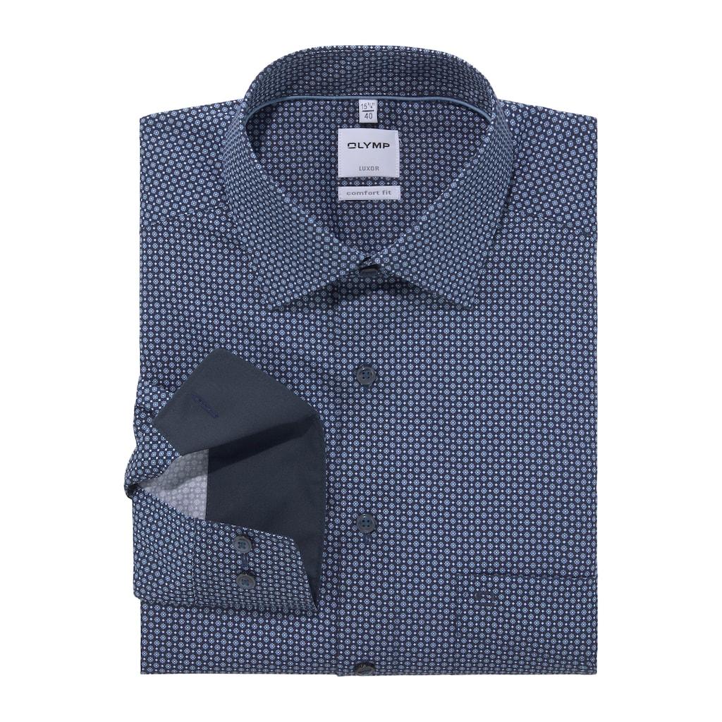 OLYMP Businesshemd »Luxor comfort fit«, mit Brusttasche