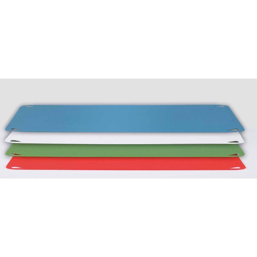 Leifheit Schneidebrett »Vario Board«, mit 4 wechselbaren Schneideauflagen